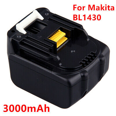 3000mAh For Makita BL1430 Replace Battery LXT200 BL1415 194558-0 194559-8 L10 HT