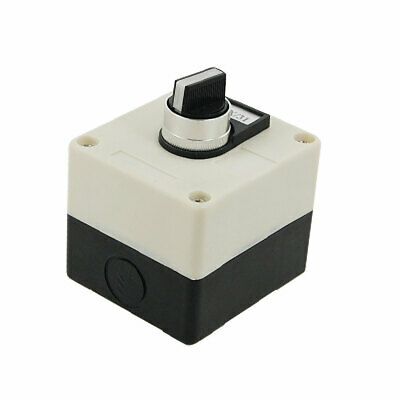 660V 10A 3 Position Rotary Selector Push Button Station