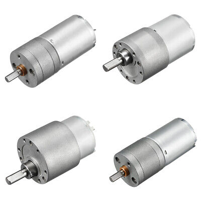 DC 12V 7-1931RPM D-Shaft Micro Gear Box Electric Motor Speed Reduction Motor