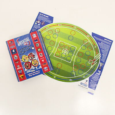Official Collectable AFL Poker Chipz 2010 w/ Tournament sheet in Folder #710