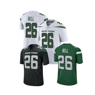 2019 MEN'S NEW York Jets #26 Le'Veon Bell GreenWhiteBlack Jersey  free shipping