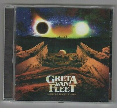 Greta Van Fleet [ Cd 2018 ] Anthems Of The Peaceful Army - Mint Condition
