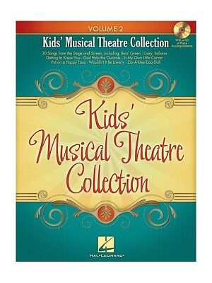 Kids Musical Theatre Collection: Volume 2 (Book & CD)