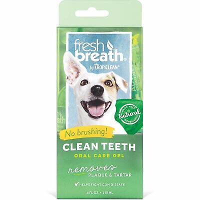 Tropiclean Clean Teeth Fresh Breath Gel for Dogs 118ml