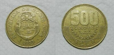 COSTA RICA 500 COLONES 2003 - Attractive Design
