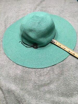 c7be8e8753f4e WOMENS LANDS  END Straw Bucket Hat Size L xl In Very Good Condition ...