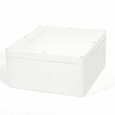 Surface Mounted Electric Junction Box 300mm x 280mm x 140mm Grey