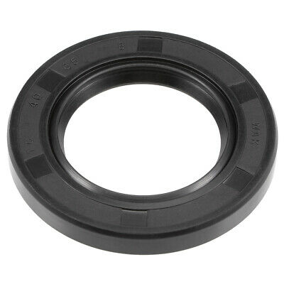Oil Seal, TC 40mm x 65mm x 8mm, Nitrile Rubber Cover Double Lip