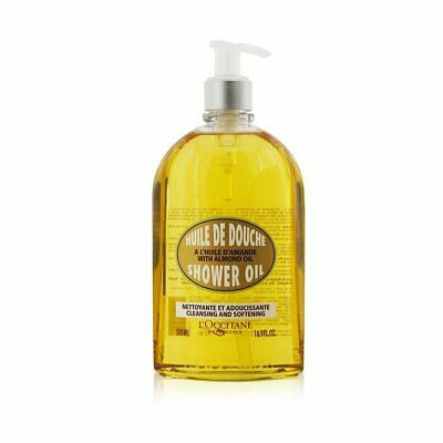 L'Occitane Almond Cleansing & Soothing Shower Oil 500ml Bath & Shower