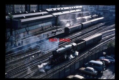 Photo  Lner Loco 4472 Flying Scotsman Leaving Marylebone Railway Station