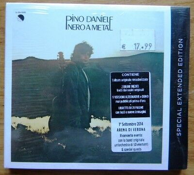 Pino Daniele Nero A Meta Special Exdtended Edition Cd Nuovo