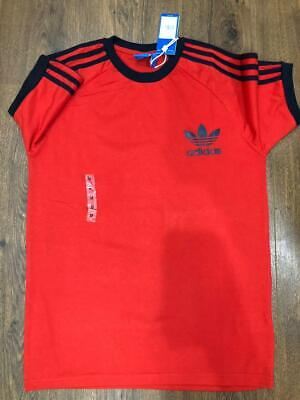 Adidas Mens Trefoil California Tees Crew Neck Retro T-Shirt Tee Top Sale