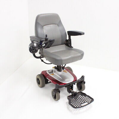 Shoprider Jimmie 4-Wheeled Power Chair - Burgundy PICK UP ONLY #209