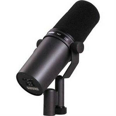 NEW! Shure SM7B Radio TV Dynamic Vocal Microphone SM7 Warranty & Free US 48 Ship