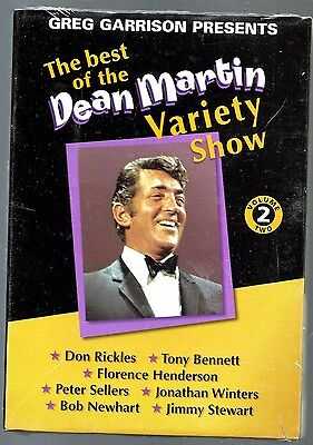 Dean Martin Variety Show 2 DVD Don Rickles, Peter Sellers, Jimmy Stewart  NEW!