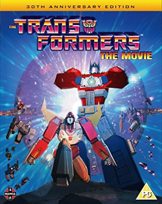Transformers The Movie 30Th Anniversary (UK IMPORT) BLU-RAY NEW