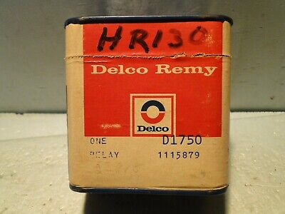 1969-70-71-72-1973 Buick Delco Remy Horn Relay NOS Sealed In Tin D1750 1115879