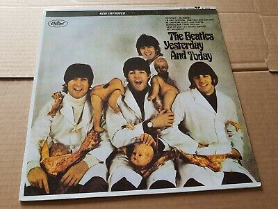 THE BEATLES - yestoday and tosay  - LP -  coloured