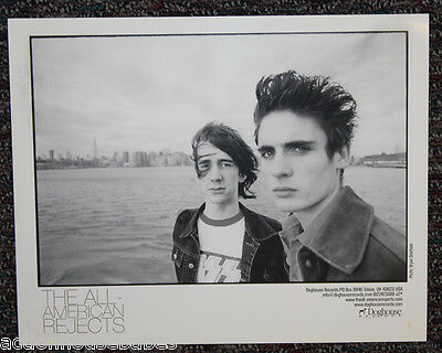 "The ALL-AMERICAN REJECTS : PROMO Photo 8"" x 10"" Picture / Poster B&W - Doghouse"