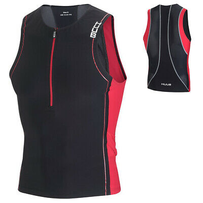 HUUB Core Tri Top Mens Running Cylcing Triathlon Sleeveless Jacket Sizes XS-XXL