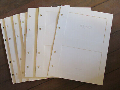 New In Package 6 Refill Packages Window Frames Heavy Matted Pages 4x6 photos