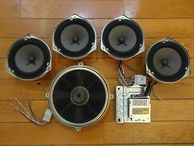Bose Car Speakers >> Bose 6 Piece Car Sound System Powered Speakers Acura Tl 1999 2003