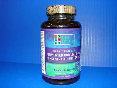 Green Pasture Blue Ice Royal Butter Oil Fermented Cod Liver Oil Blend **NEW** ^^