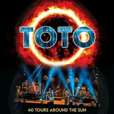 TOTO 40 TOURS AROUND THE SUN 2 CD EDITION (Released March 22nd 2019)