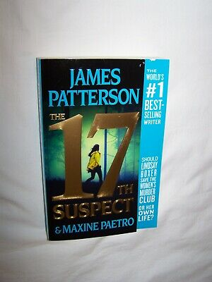 The 17th Suspect by James Patterson (2018) Women's Murder Club Mystery