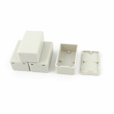 4pcs Plastic Electronic Project Case Junction Box 60mmx36mmx25mm Construction