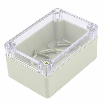 Plastic Enclosure Waterproof Clear Project Box Case 100x68x50mm