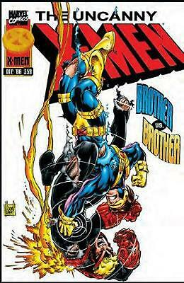 X-men: Onslaught Aftermath by Scott Lobdell Paperback Book Free Shipping!