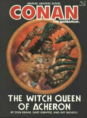 Conan The witch queen of Acheron Marvel Graphic Novel GN