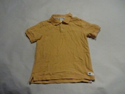 Boys Janie & Jack short sleeve polo shirt, size 3T, light orange