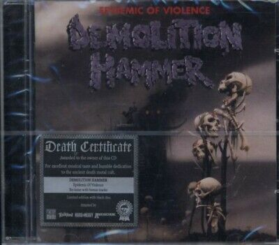 Demolition Hammer - Epidemic of Violence CD