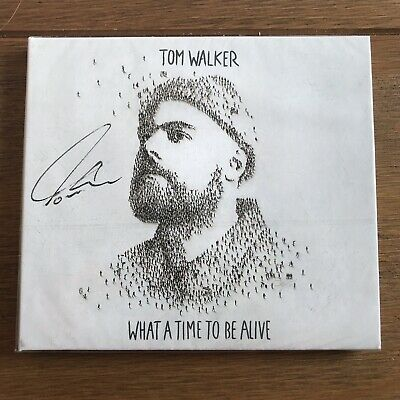 Tom Walker - What A Time To Be Alive Signed CD Autographed Sealed