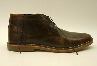 fb4fcea875b Steve Madden Mens Size US 10 Dark Brown Heston WP Dress Casual Formal Shoes