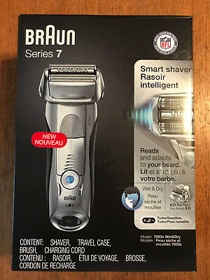 BRAUN Series 7 Mdl. 7893s SMART SHAVER Cordless/Wet or Dry