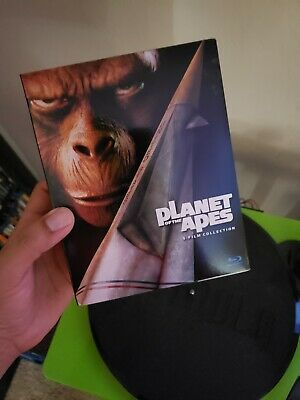 Planet of the apes 5 film collection blu-ray