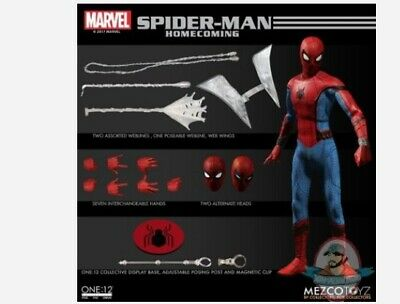 The One:12 Collective Marvel Spider-Man Homecoming Figure by Mezco