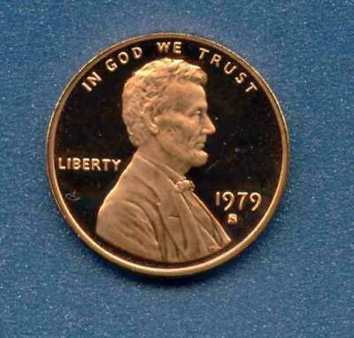 1979-S Lincoln Cent Proof - Type 1, U.S. Mint Issued