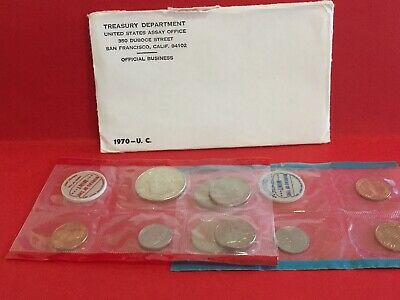 1970 P & D Uncirculated UNITED STATES MINT SET