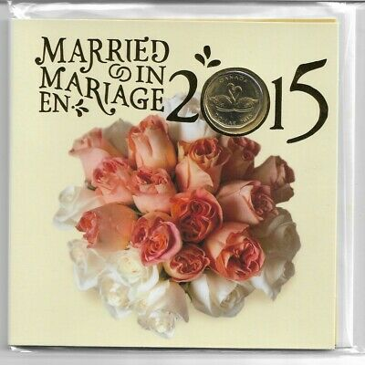 2015 Royal Canadian Mint Married In 2015 Coin Set Mint and Sealed 5 Coin Set.