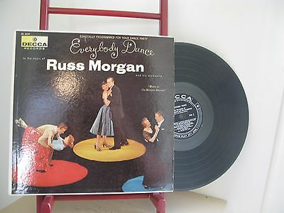 Russ Morgan Everybody Dance Decca Records Dl 8337 Lp Vg