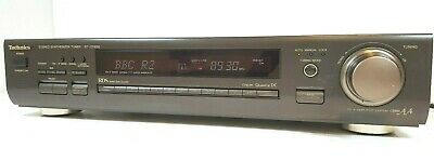 TECHNICS ST-GT650 High End AM FM RDS Stereo Tuner Class AA made in Japan