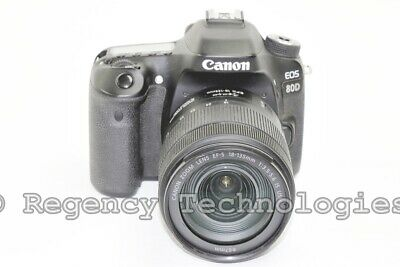 Canon Eos-80D | 18-135Mm Is Usm Lens | Dslr Camera | Black