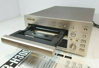 TEAC R-H300 Stereo Cassette Tape Deck - Drawer Loading - With manual & Cables