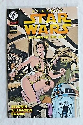 Classic Star Wars Return of the Jedi #1 Adam Hughes Slave Leia cover Sealed NM
