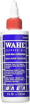 Wahl Electric Hair Clippers Trimmer Shaver Blade Oil Lubricant Lube 4oz Spare