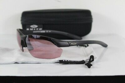 4ea126ad97 New Smith Parallel Max Sunglasses Matte Black Ignitor and Clear Lens